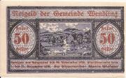 50 Heller (Wendling) – obverse