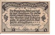 20 Heller (Attersee) – reverse