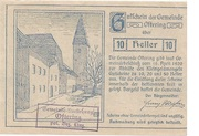 10 Heller (Pötting) – obverse