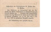 10 Heller (St. Pölten) – reverse