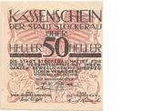 50 Heller (Stockerau) – obverse