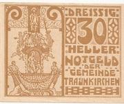 30 Heller (Traunkirchen) – obverse
