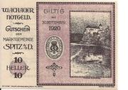 10 Heller (Wachau) – obverse