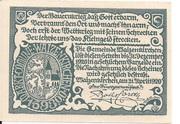 20 Heller (Waizenkirchen) – reverse