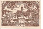 50 Heller (Waizenkirchen) – obverse