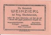 50 Heller (Weinzierl) – reverse