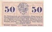 50 Heller (Weyer) – reverse