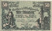 50 Heller (Wiener Neudorf) – obverse