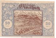 50 Heller (Windhag bei Waidhofen an der Ybbs) – obverse