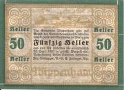 50 Heller (Wippenham) – reverse