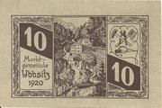 10 Heller (Ybbsitz) – obverse