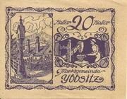 20 Heller (Ybbsitz) -  obverse