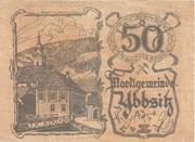 50 Heller (Ybbsitz) -  obverse