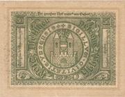 50 Heller (Ybbs) – reverse
