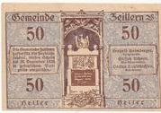 50 Heller (Zeillern) – obverse