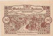 50 Heller (Zeillern) – reverse