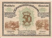 50 Heller (Krummnussbaum) -  obverse