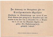 20 Heller (Egelsee) – reverse