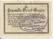 50 Heller (Bruck – Waasen) -  reverse