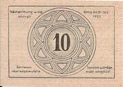 10 Heller (Grafenschlag) – reverse