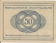 50 Heller (Grafenschlag) -  reverse