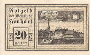 20 Heller (Henhart) -  obverse