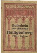 10 Heller (Heiligenberg) -  obverse