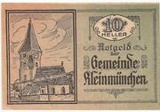 10 Heller (Kleinmünchen) – obverse