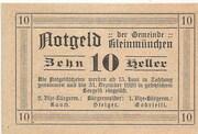 10 Heller (Kleinmünchen) – reverse