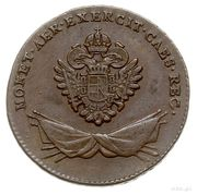 1 Grossus - Franz II (Coin for the Imperial  Austrian Army) – obverse
