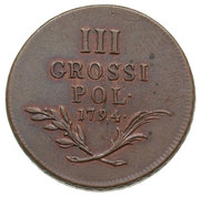 3 Grossi - Franz II (Coin for the Imperial Austrian Army) – reverse