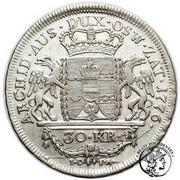 30 Kreuzer - Maria Theresia – reverse