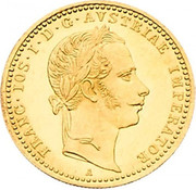 1 Ducat - Franz Joseph I -  obverse