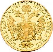 1 Ducat - Franz Joseph I -  reverse