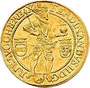 2 Ducat - Ferdinand II (Vienna) -  obverse