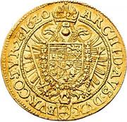 2 Ducat - Ferdinand II (Vienna) -  reverse
