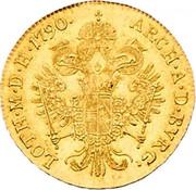 1 Ducat - Leopold II -  reverse