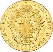 2 Ducat - Franz II -  reverse