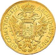 3 Ducat - Karl VI (Vienna) -  reverse