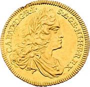 1 Ducat - Karl VI (Vienna) -  obverse
