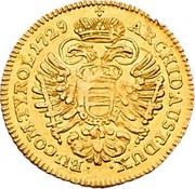 1 Ducat - Karl VI (Vienna) -  reverse