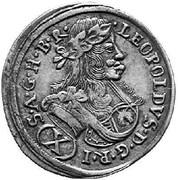 10 Kreuzer - Leopold I (Graz) -  obverse