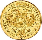 1 Ducat - Maria Theresia (Graz) -  reverse