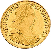 1 Ducat - Maria Theresia (Vienna) -  obverse