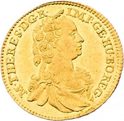 1 Ducat - Maria Theresia (Vienna) -  obverse