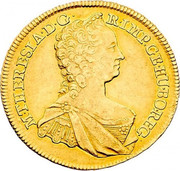 5 Ducat - Maria Theresia (Vienna) -  obverse