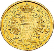5 Ducat - Maria Theresia (Vienna) -  reverse