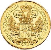 5 Ducat - Maria Theresia (Vienna) – reverse