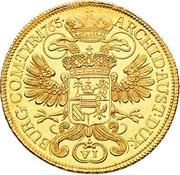 6 Ducat - Maria Theresia (Vienna) – reverse