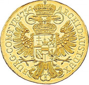 10 Ducat - Maria Theresia (Vienna) -  reverse
